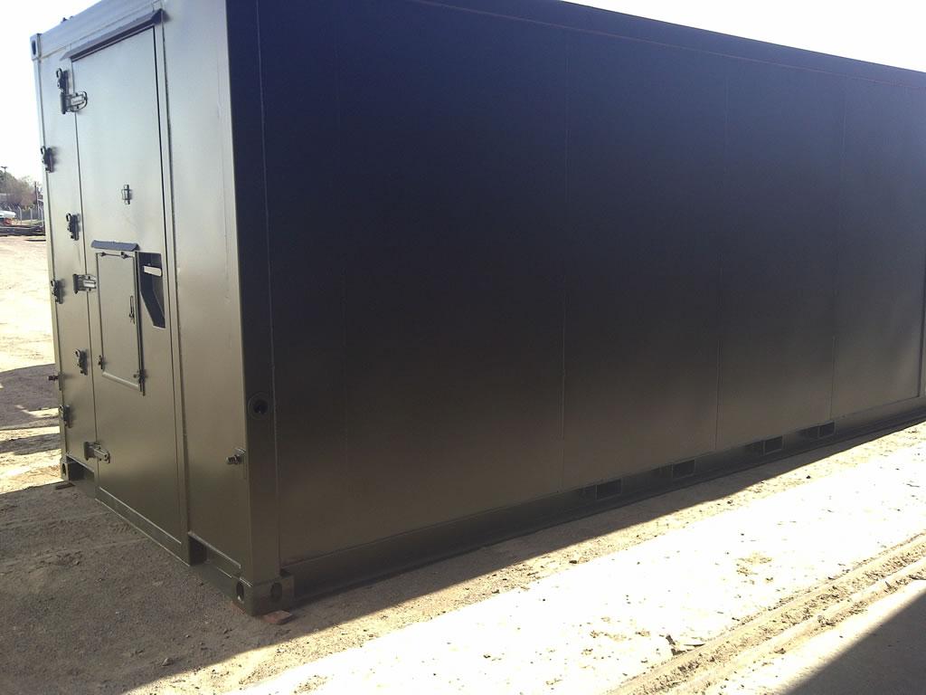 (ES) Shelters para telecomunicaciones   Industrias 9 de Julio